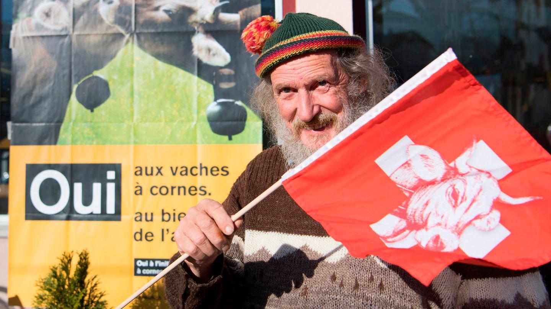 Hornkuh-Initiative in der Schweiz laut Hochrechnung abgelehnt