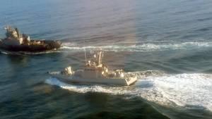 Russisches Schiff rammt ukrainischen Marineschlepper