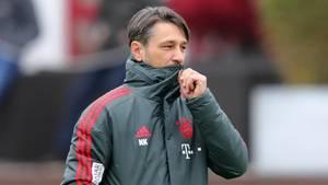 Bayern-Coach Niko Kovac gerät zunehmend unter Druck