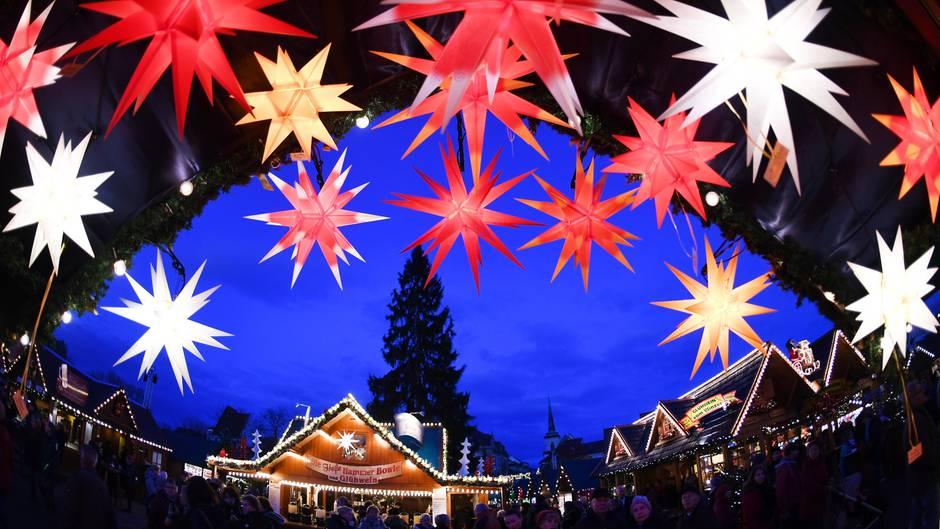 Bester Weihnachtsmarkt In Deutschland.Weihnachtsmarkt Ranking Das Sind Die Beliebtesten Märkte In