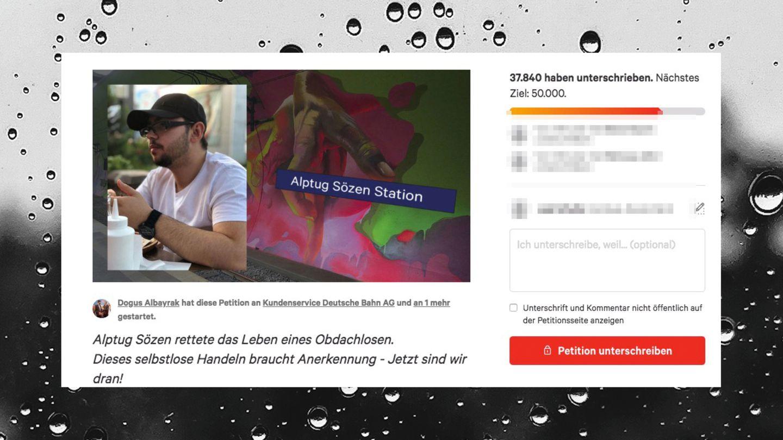 Petition für Alptug Sözen