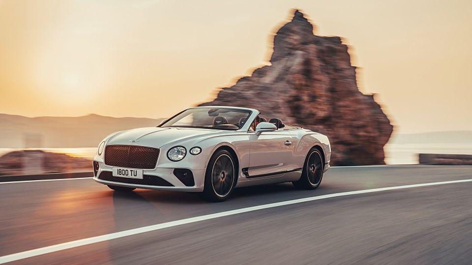 Bentley Continental GT Cabriolet 2019 - und geschlossen kaum weniger sehenswert