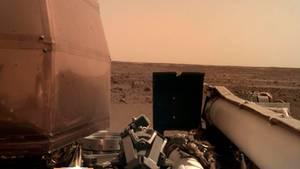 """Erste Aufnahmen des Nasa-Roboters """"InSight"""""""