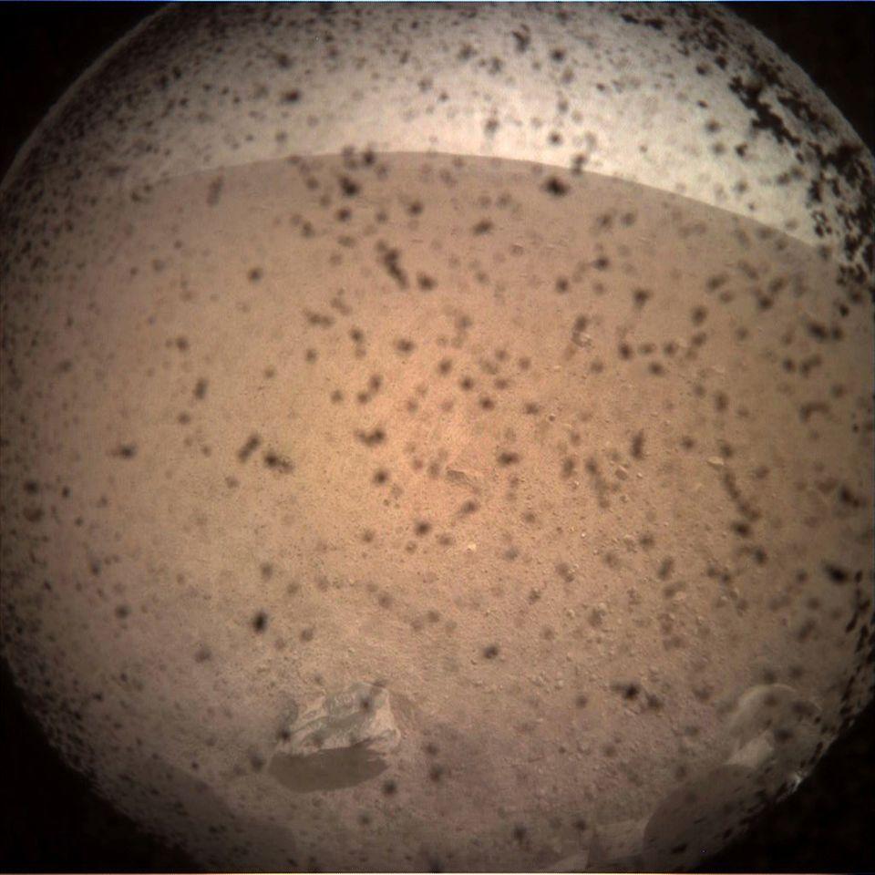 Erstes Foto der Mars-Mission
