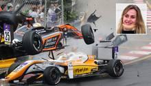 Sophia Flörsch: Formel-3-Fahrerin kann nach Horror-Crash Krankenhaus verlassen – so geht es ihr heute