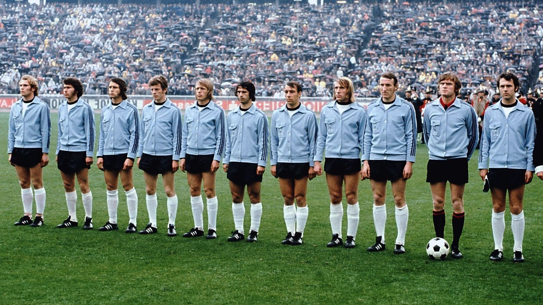 Uli Hoeneß (l.) und Paul Breitner beim EM-Finale 1972