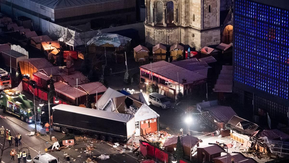 Berlin Weihnachtsmarkt 2019.Berliner Breitscheidplatz Die Weihnachtsmarkt Festung In Bildern