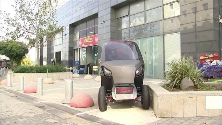 """Israelisches Start-Up: """"City Transformer"""": Dieses Auto passt in wirklich jede Parklücke"""
