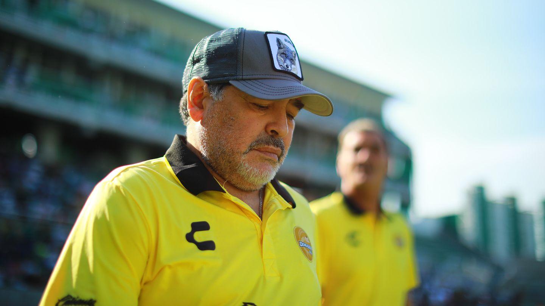 Diego Maradona als Dorados-Coach