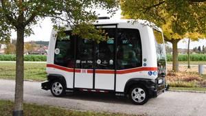 In Bad Birnbach ist der Bus bereits unterwegs.