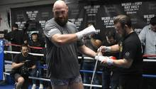 Tyson Fury kehrt in den Ring zurück - im stern spricht er über seine schwere Zeit nach dem Triumph über Klitschko