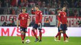 FCB-Spieler nach dem Unentschieden gegen Düsseldorf