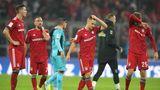 FCB-Spieler enttäuscht nach dem 1:1 gegen den SC Freiburg