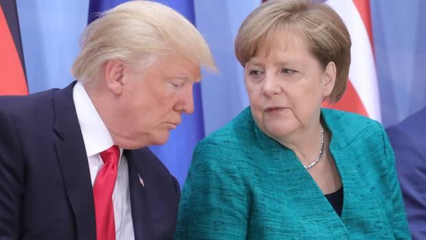 Trump und Merkel treffen sich beim G20-Gipfel in Buenos Aires
