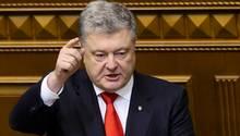 Poroschenko sieht die Gefahr eines russischen Einmarsches in die Ukraine
