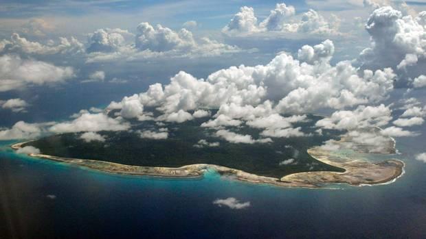 Die Insel und das umliegende Gewässer im Radius von drei Seemeilen sind Sperrgebiet und dürfen nicht betreten werden