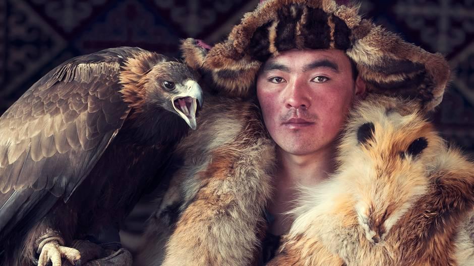 """Mongolei: """"Ein Star unter den Kasachen"""""""