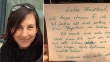 Foto von Petra und ein Wunschzettel