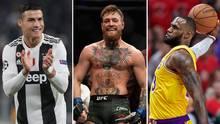 Forbes-Liste: Diese Sportler verdienten 2018 am meisten Geld – Boxer Floyd Mayweather mit Abstand die Nummer 1