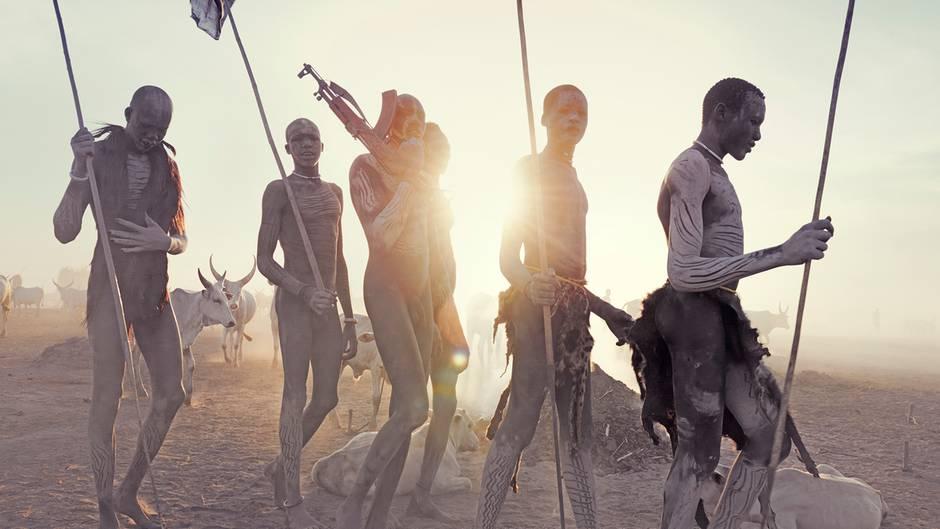 Zwischen den Fronten im Südsudan: Der Fotograf im Kriegsgebiet am Weißen Nil