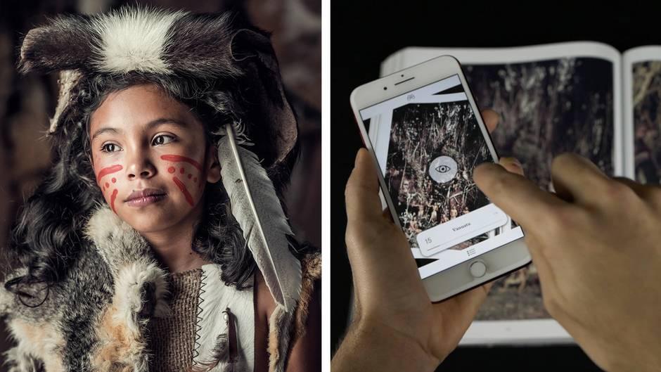 Einzigartiges Projekt: Jimmy Nelson besucht indigene Völker auf der ganzen Welt – mit dieser App werden seine Bilder lebendig
