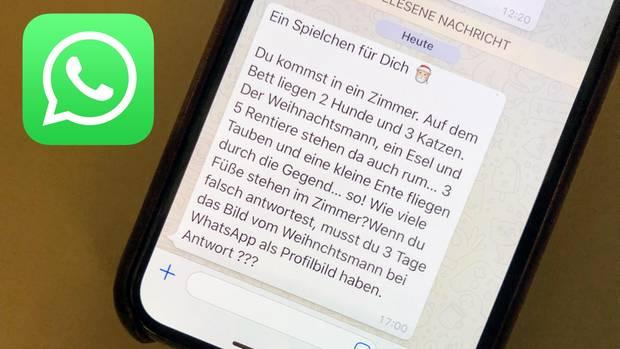 Whatsapp Kettenbrief Weihnachtsmann