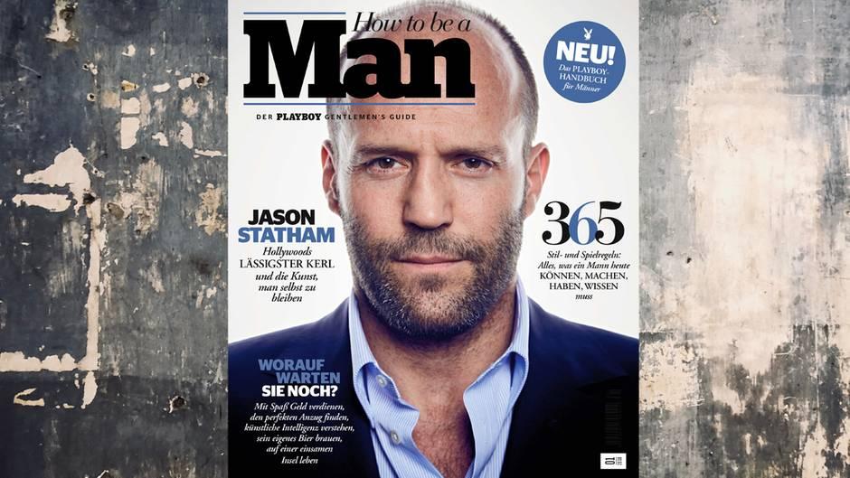 Jason Statham auf Cover