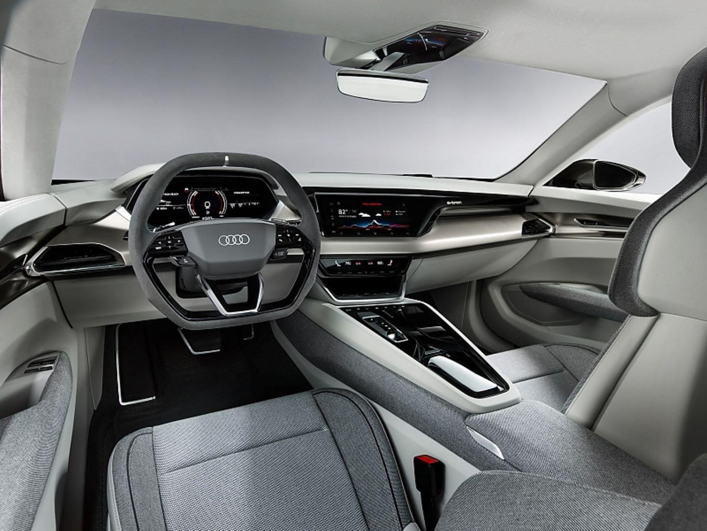 Der Innenraum des Audi E-Tron GT