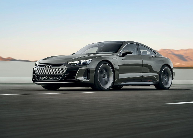 Audi E-Tron GT - natürlich mit Allradantrieb