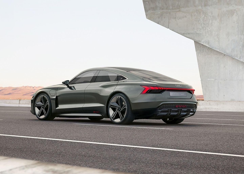 Audi E-Tron GT - scharfes Design