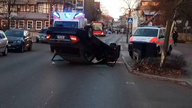 nachrichten deutschland - unfall einparken