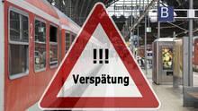 Ärgernis Verspätung beider Deutschen Bahn