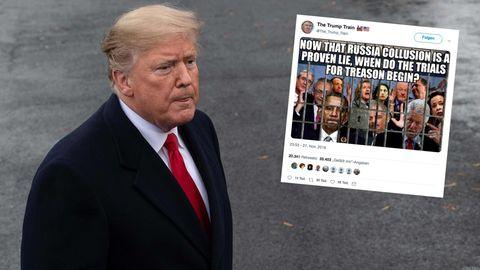 Donald Trump und sein Knast-Tweet