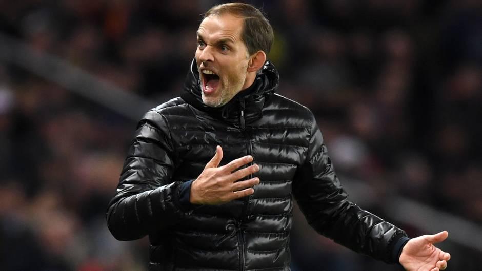Thomas Tuchel folgte Jürgen Klopp als Trainer in Mainz und in Dortmund. Jetzt trainieren beide europäische Spitzenteams und duellieren sich in der Champions League - so wie am Mittwochabend im Gruppenspiel. Tuchel war an der Seitenlinie vielleicht ein wenig engagierter als sonst.
