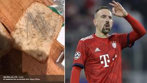 Das Besen-Brot und Bayern-Spieler Franck Ribéry