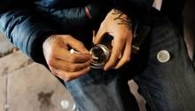 Ein Heroin-Junkie in Philadelphia