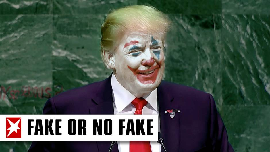 """Fake or No Fake"": Donald Trump als Clown? Ein Experte für visuelle Effekte erklärt das skurrile Video"