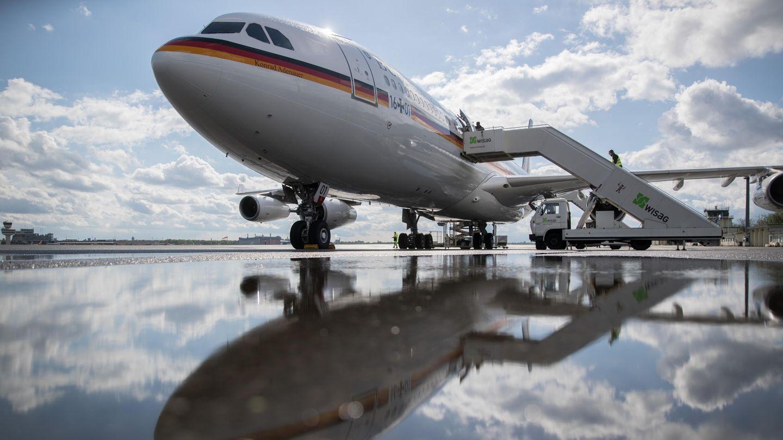 """Der Airbus A340 der Luftwaffe """"Konrad Adenauer"""""""