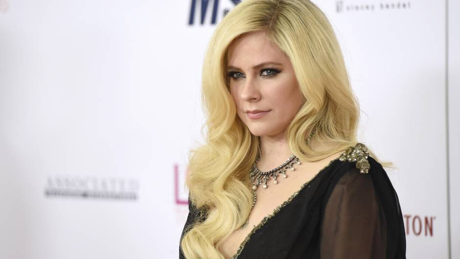 Avril Lavigne bei der Race to Erase MS Gala 2018