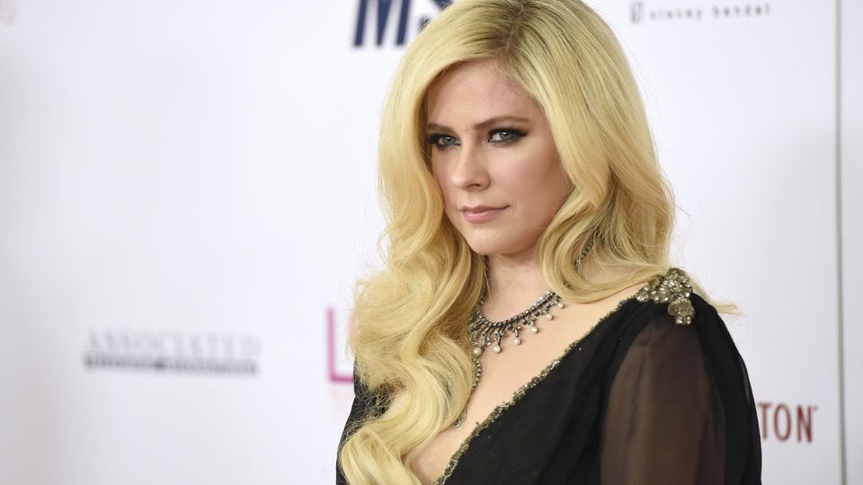 Avril Lavigne bei der Race to Erase MS Gala 2018