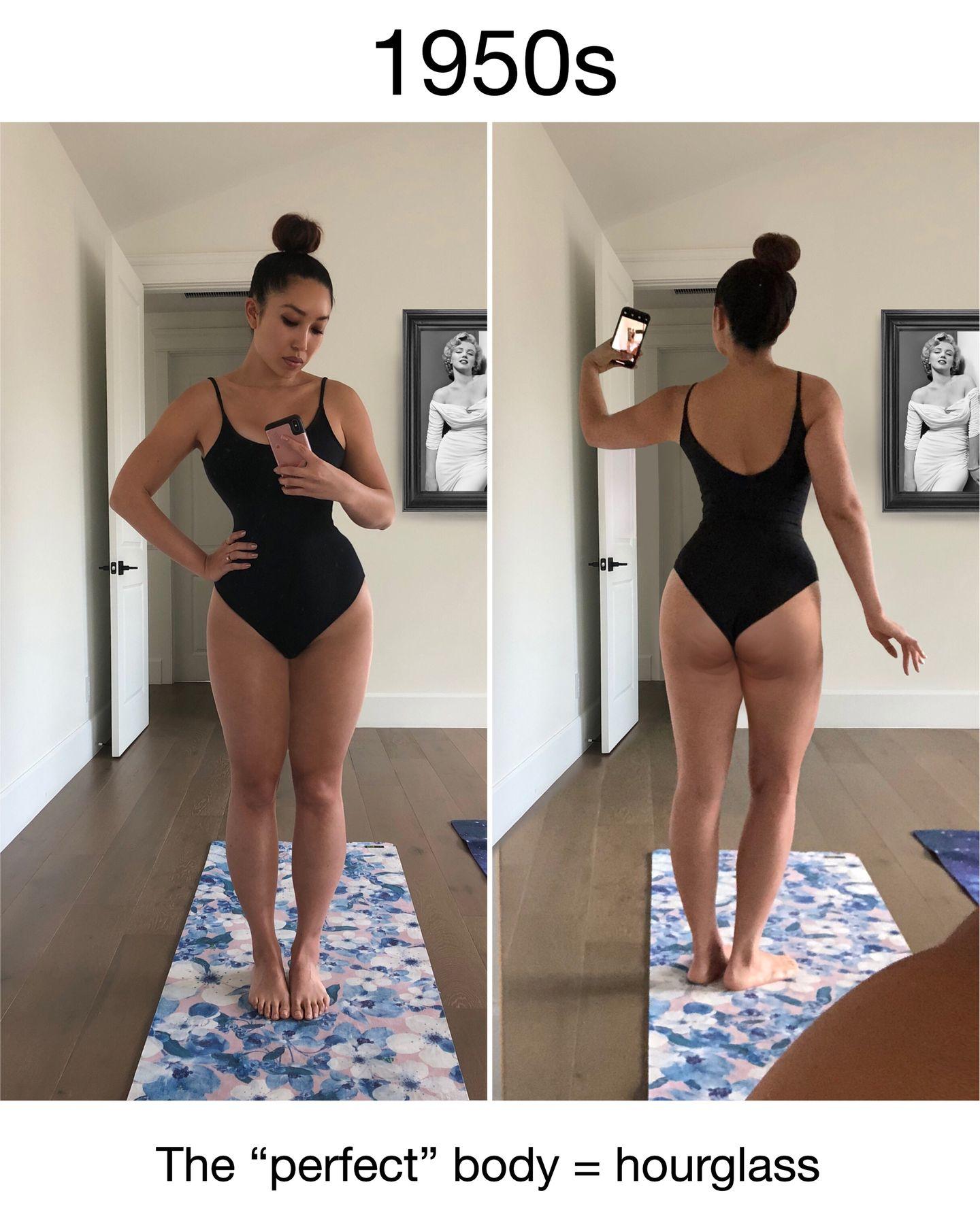Frau perfekte figur Warum eine
