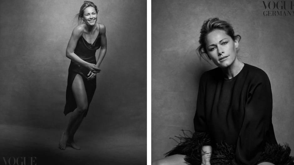 """Natürlicher Look: Dieser deutsche Schlager-Star ziert die neue """"Vogue"""" – und ist kaum wiederzuerkennen"""