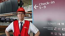 Flughafenchef Engelbert Lütke Daldrup im Terminal des Flughafens Berlin Brandenburg (BER)