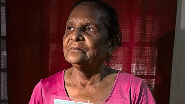 Pilar Escobar vermisst ihre Tochter Olga, die sich bereits 2009 aus Honduras aufgemacht hatte