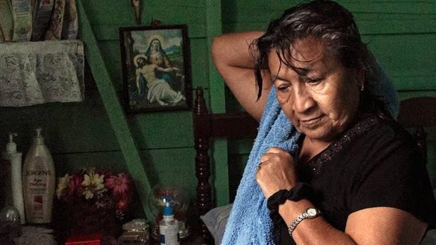 Rosa Nelly Santos leitet in der Stadt El Progreso die Organisation Cofamipro, das Komitee der Familien verschwundener Migranten
