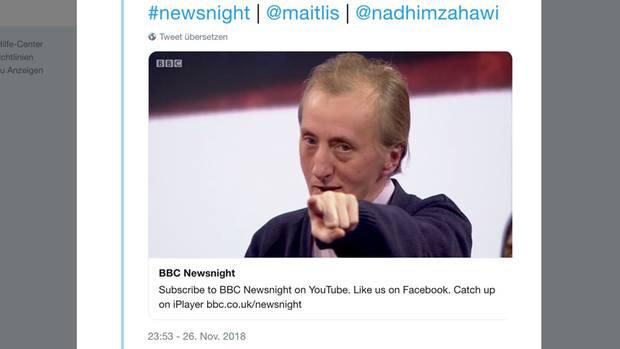 BBC Newsnight Lynn Hayter