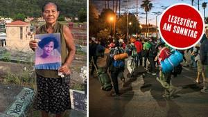 Von Mittelamerika in die USA – der stern hat die Karawane begleitet