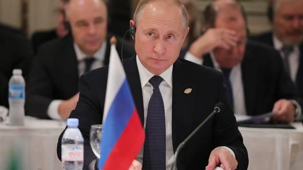 Wladimir Putin in BuenosAires