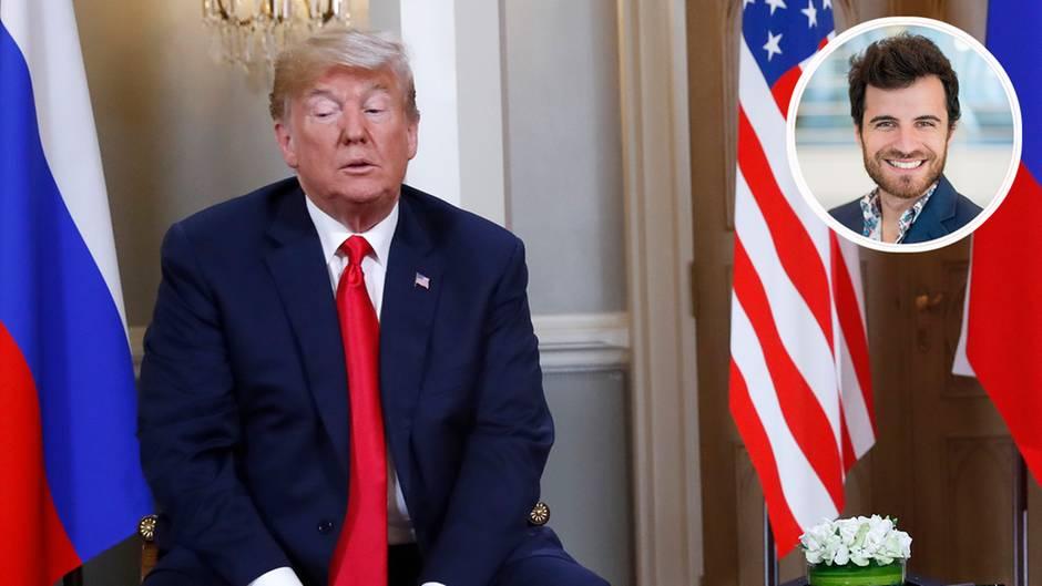"""The Trump Of The Week"": Russlandaffäre und Khashoggi: ""Donald Trump ist ein Fan autoritärer Macht"""