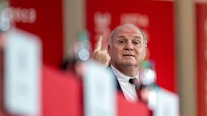 Uli Hoeneß, Vereinspräsident von FC Bayern